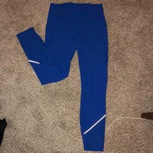 Blue lulu 7/8 pocket leggings
